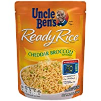 Deals on 6-Pack Uncle Bens Ready Rice: Cheddar Broccoli Rice 8.5oz