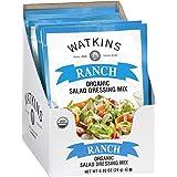 Watkins Organic Ranch Salad Dressing Mix, 0.85 oz. Packets, 12-Pack
