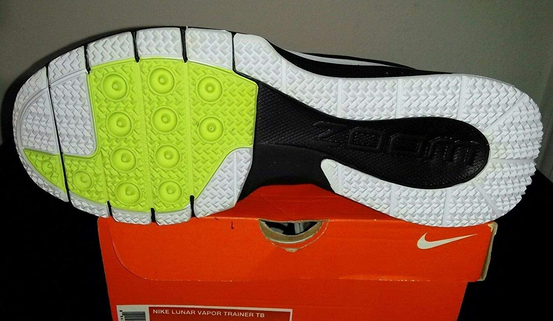 sale retailer 2c5a0 e5e92 Nike Lunar Vapor Trainer TB White Black 524278 001 Sz 14 (1r3) at Amazon s  Sports Collectibles Store