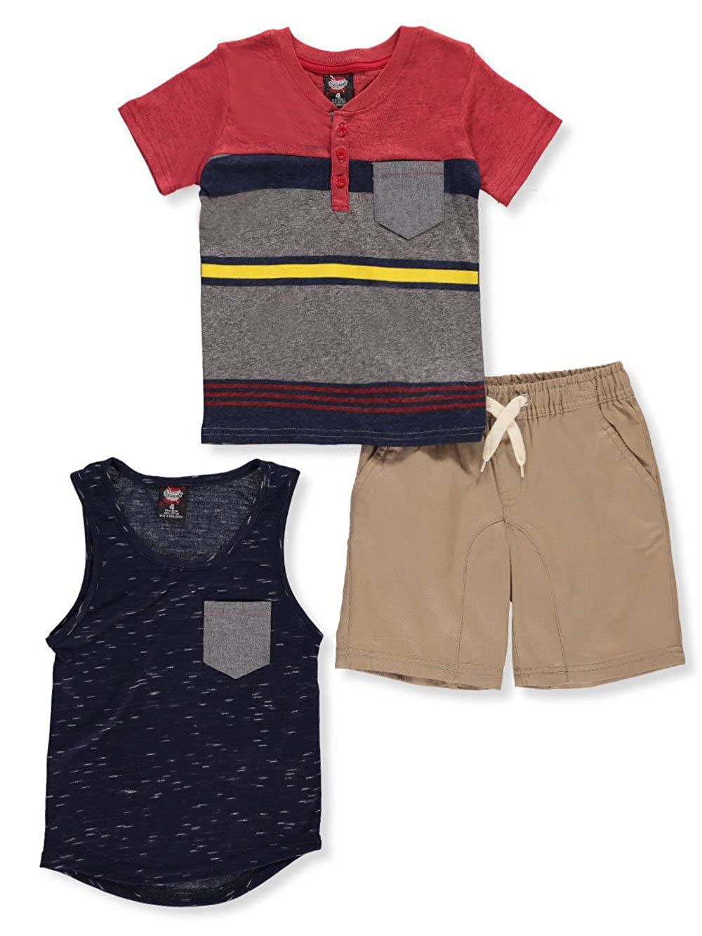 Retro Stitch Boys' 3-Piece Set 4