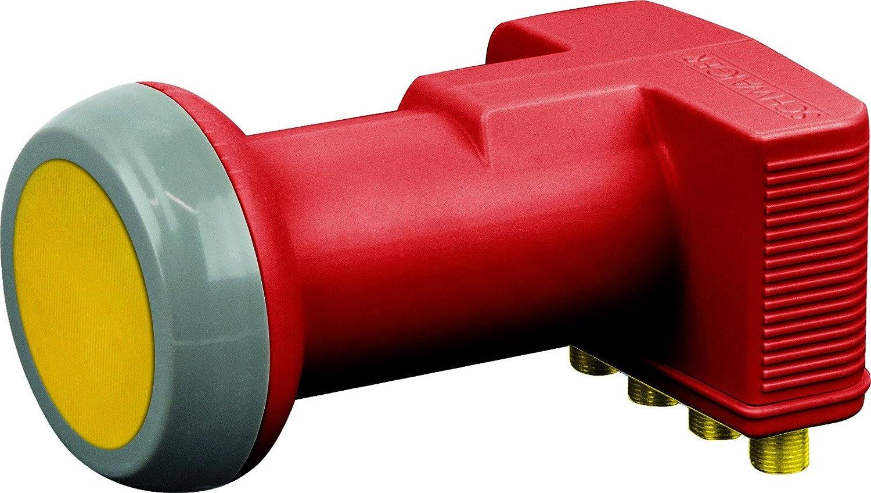 Schwaiger SPS6818R 511 Rauscharme Signalumsetzer F, Rot