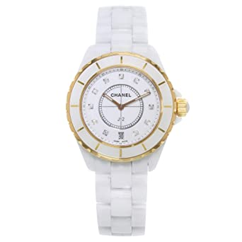 9b1013c67ea Amazon.com  Chanel J12 Quartz Male Watch H2180 (Certified Pre-Owned ...