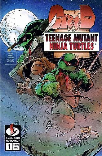 Amazon.com: CreeD/Teenage Mutant Ninja Turtles #1 VF/NM ...