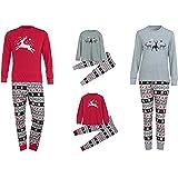 Conjunto de Pijamas Familiares de Navidad,LILICAT Ropa Familiar a Juego para la familia del