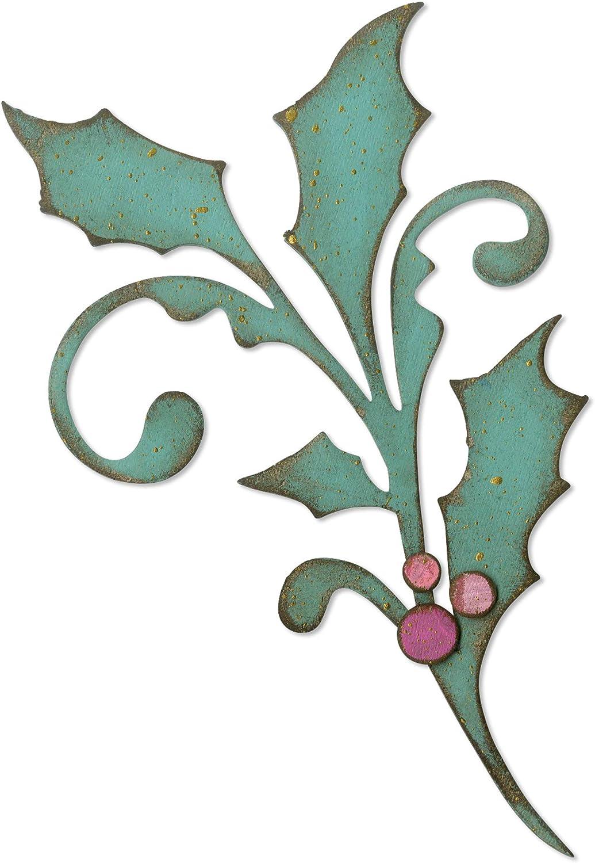 Sizzix Seasonal Scroll by Tim Holtz Dies, Multicolor