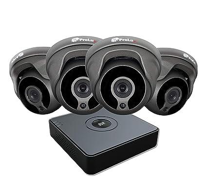 HiWatch DVR-100G Grabadora de Vídeo Digital por Hikvision 1080P IP Cámara de Seguridad Hogar