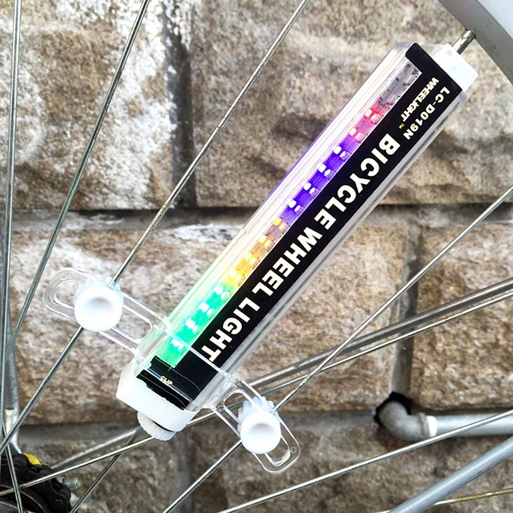 LED Bicycle Wheel Light 42 Styles Bike Spoke Lights Night Rider Decoration Safety & Warning by BuryTony (Image #2)