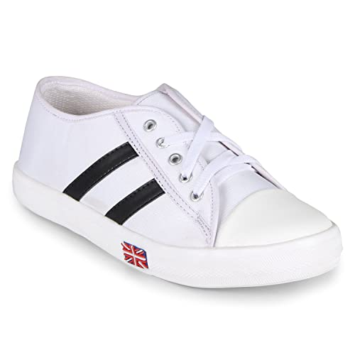 info for huge inventory promo codes Buy Bella Toes Women White Colour Fabric Casual Shoes at Amazon.in