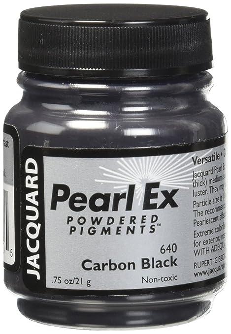 Jacquard JAC JPX1640 Pearl Ex Powdered Pigment, 0.75 oz, Carbon Black