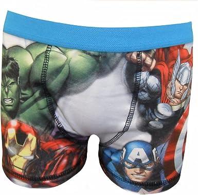 Marvel Vengadores del niño 1 Pack Boxer pantalones cortos: Amazon ...