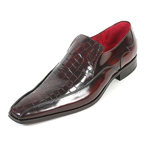 cabcaa1c Jeffery West Hombre Muse ja17 cocodrilo Piel Mocasines. Mid marrón, Color  marrón, Talla 10 UK: Amazon.es: Zapatos y complementos