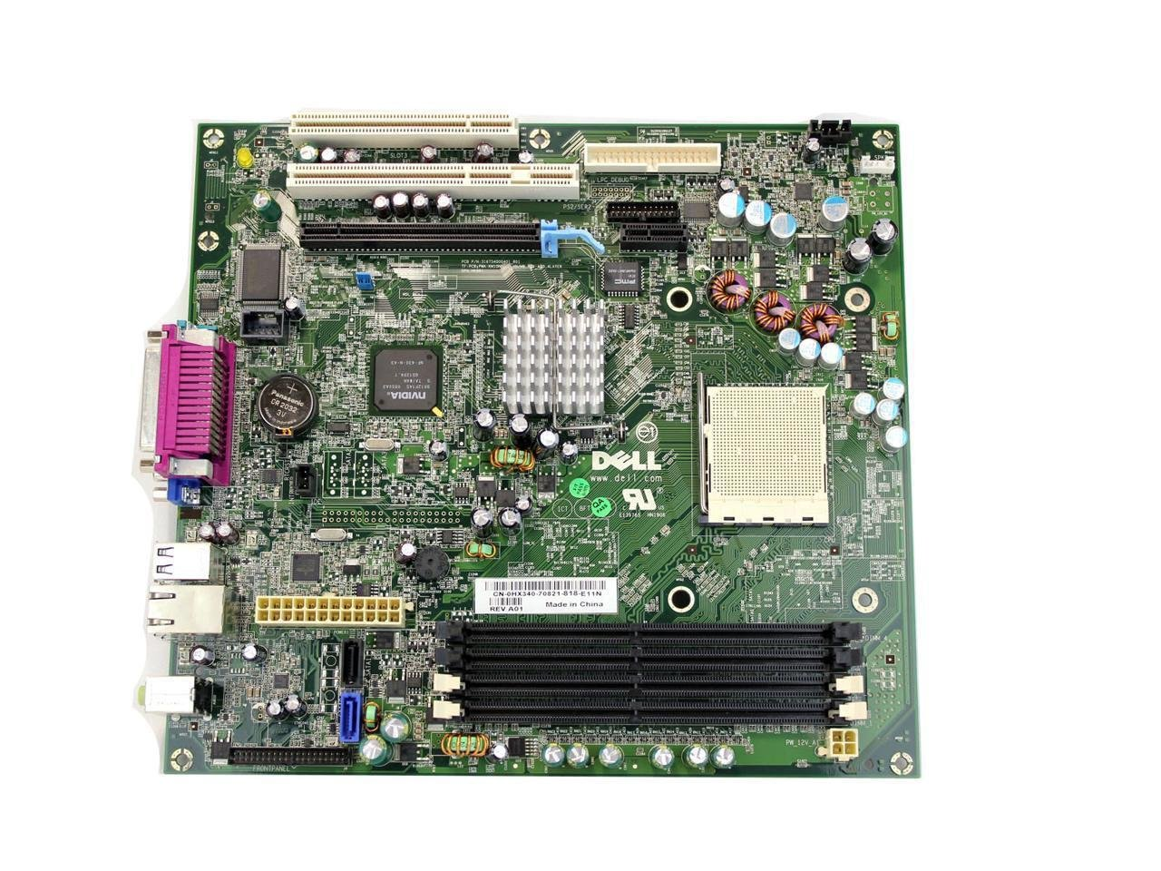 Amazon genuine dell motherboard for dell optiplex 740 desktop amazon genuine dell motherboard for dell optiplex 740 desktop systems nvidia chipset geforce 6150lenforce 430 compatible part numbers hx340 yp696 pooptronica