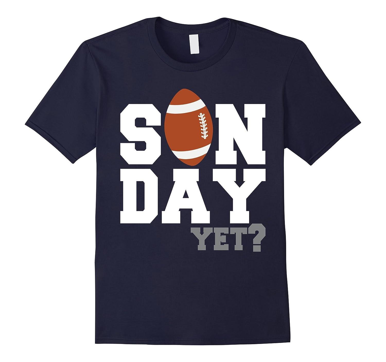 Funny Football T-Shirt Sunday Season-BN