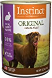Instinct Original Grain Free Recipe Natural Wet Canned Dog Food By Nature'S Variety Rabbit