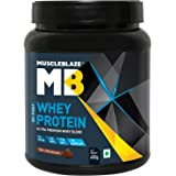 MuscleBlaze My First Whey Protein, 400 g 12 Servings (Rich Milk Chocolate)