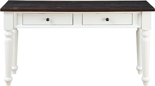Southern Enterprises Lazio Industrial Mirrored Console Table