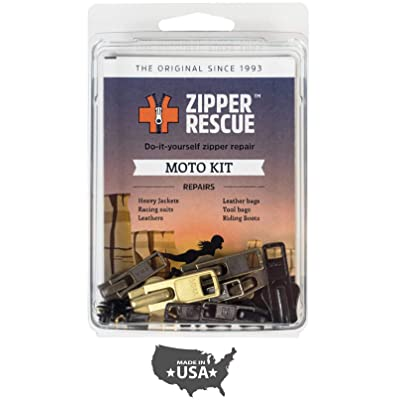 Zipper Rescue Zipper Repair Kits – The Original Zipper Repair Kit, Made in America Since 1993 (Moto): Arts, Crafts & Sewing
