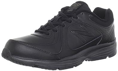 New Balance Women's WW411 Health Walking Shoe,Black,5.5 ...
