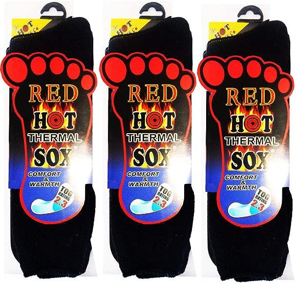 1 Ladies Plain Thick Heat Machine® 2.3 Tog Rating Winter Thermal Socks UK 6-11