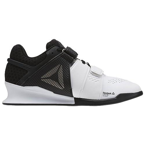 Reebok Legacylifter Zapatillas para Mujer, Negro, Blanco