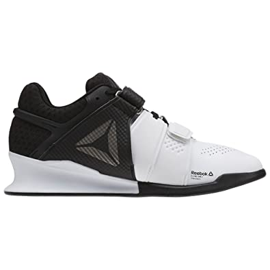 5fe54be8a8b Reebok Women s Legacy Lifter Cross Trainer White Black Pewter 5 ...