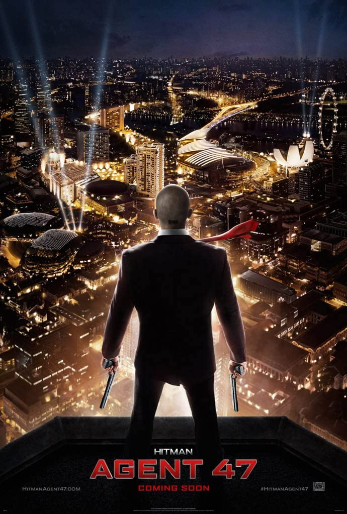 Amazon Com Hitman Agent 47 Movie Poster 2 Sided Original Advance