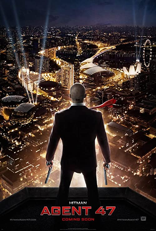 Amazon Com Hitman Agent 47 Movie Poster 2 Sided Original Advance