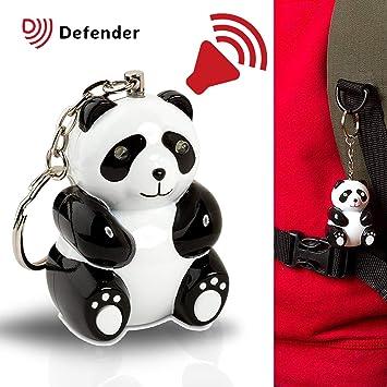 Defender Panda - 110 decibelios sirena de alarma de ...