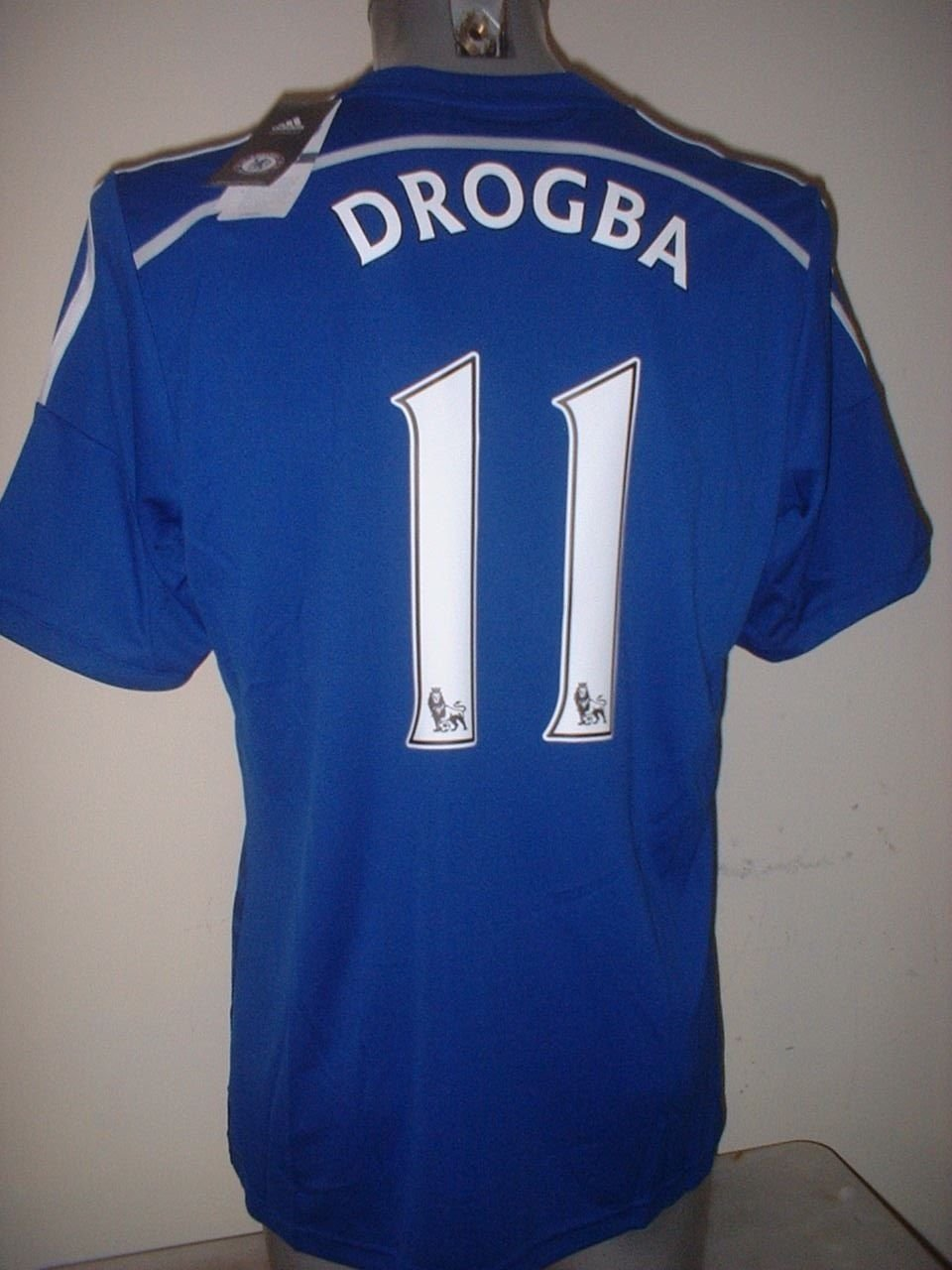 best loved cab55 c6334 adidas Chelsea DIDIER DROGBA Large BNWT Jersey Shirt Soccer ...