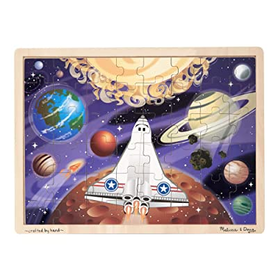 Melissa & Doug 48pc Space Voyage Wooden Jigsaw Puzzle: Melissa & Doug: Toys & Games
