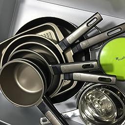 BRA - Cazo, Aluminio Fundido con Antiadherente Teflon Select ...