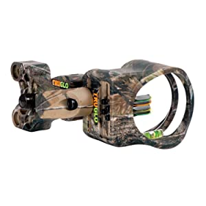 "TRUGLO Carbon XS 4-Pin Sight .019"" Realtree APG"