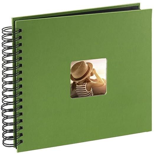 400 opinioni per Hama Fine Art Album Fotografico a Spirale, 50 Pagine, 28 x 24 cm, colore verde