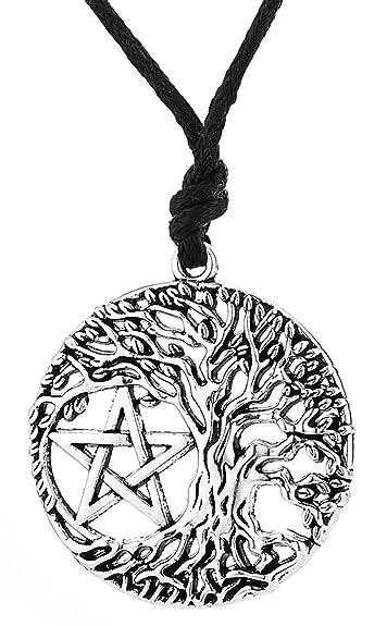 Viking Talisman Rune Yggdrasil Keltischer Baum Des Lebens Pentagramm