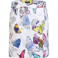 Falda de golf con estampado de mariposa