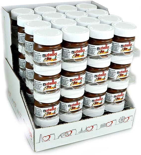 Nutella 25g Mini Jar Pack Of 64 Amazon Co Uk Grocery