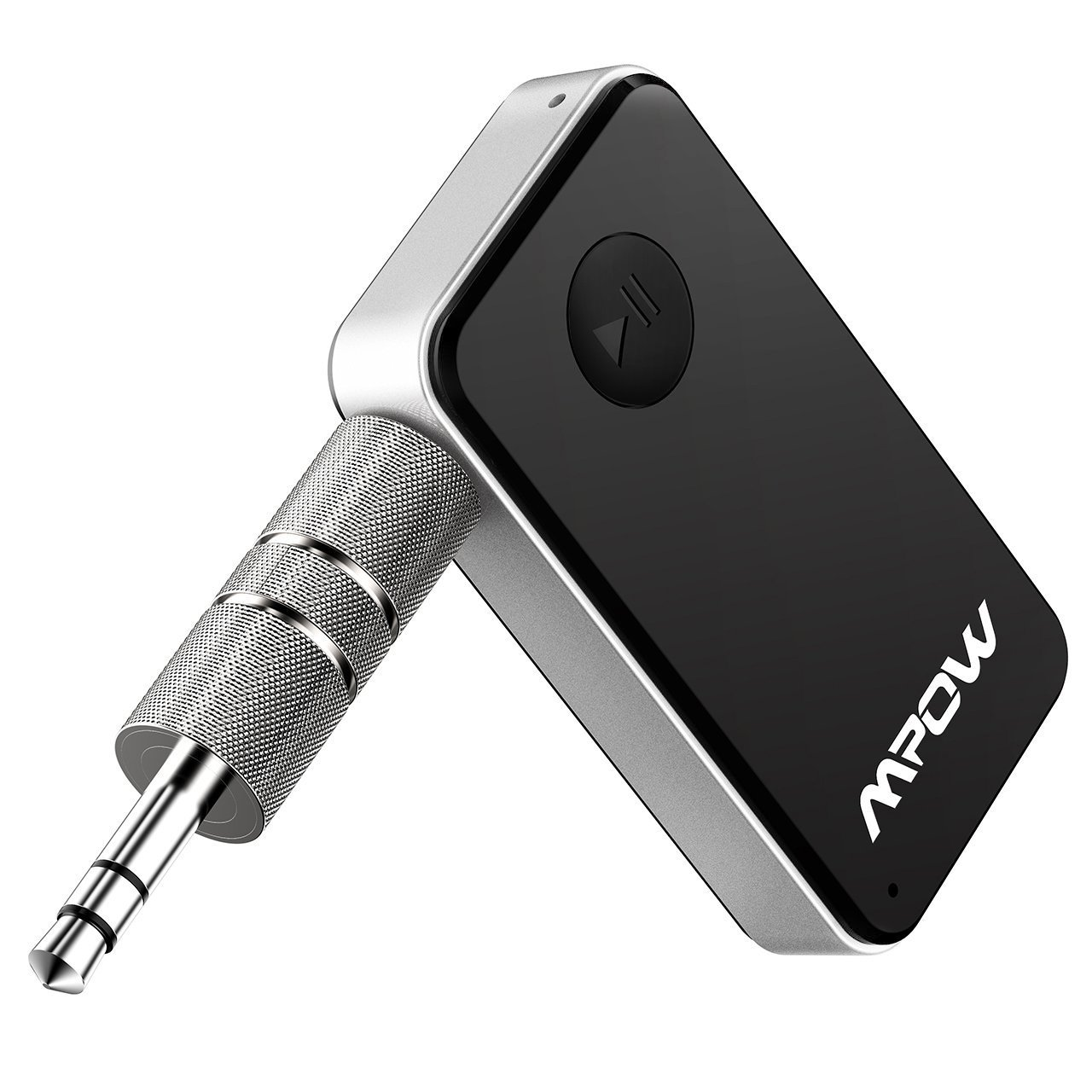 Mpow Bluetooth Receiver, Streambot Mini Bluetooth Car Aux Adapter / 10Hrs Hands-Free Car Kits/Portable Wireless Music Adapter for Car/Home Audio Stereo System