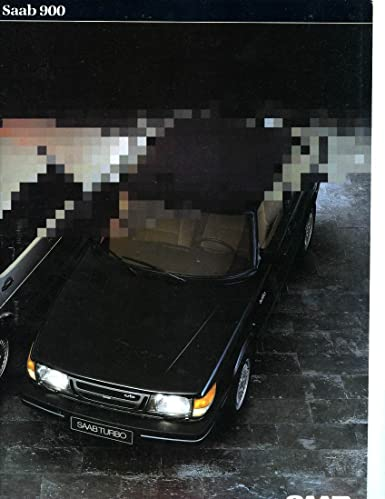 1984 Saab 900 GL GLS GLi GLE EMS CD Turbo Brochure