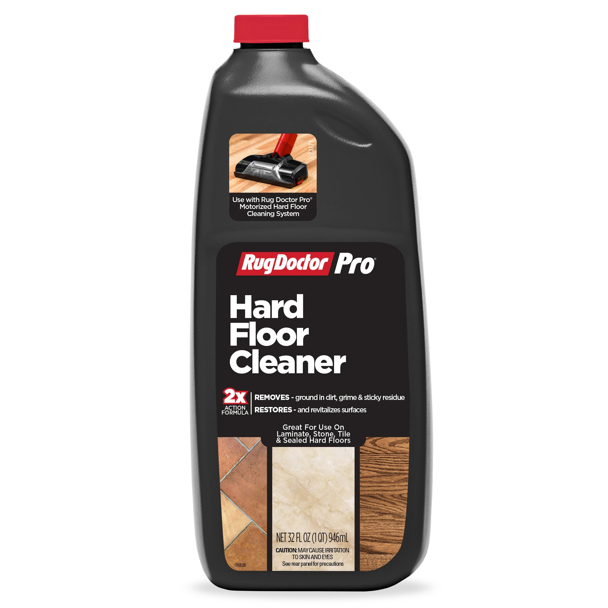 Rug Doctor Pro Deep Hard Floor Cleaning Formula for Pro Deep Hard Floor Cleaning Tool; Cleans Sealed Hardwood, Stone, Vinyl and Tile Flooring; Easy Do-It-Yourself Clean with Professional Grade Results