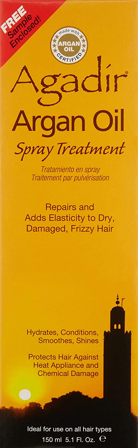 AGADIR Argan Oil Spray Treatment, 5.1 Oz