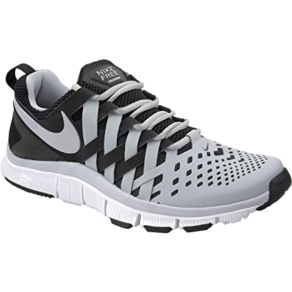 8b5fe2fad23c Image Unavailable. Image not available for. Color  Nike Men s Free Trainer  5.0 v4 Gray Black ...