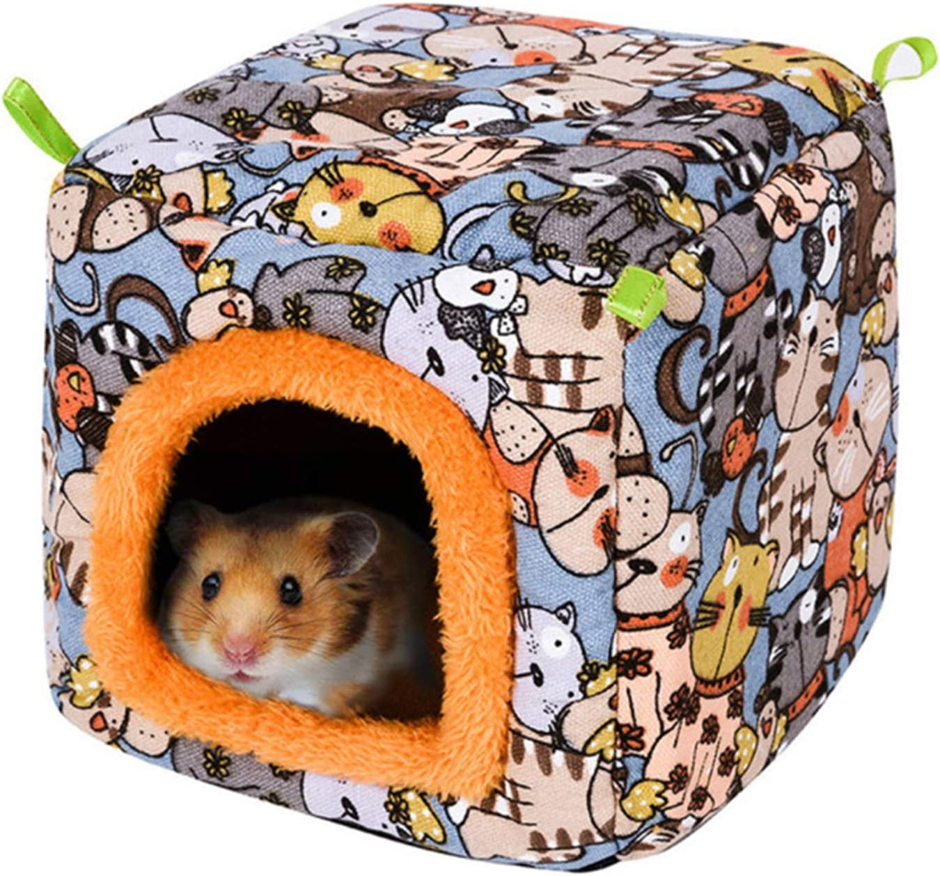 Super Soft Sleeping Bed Hanging Warm House with Hook for Hamster Hedgehog Guinea Pig Pet Supplies Tnfeeon Small Pet Plush Hammock