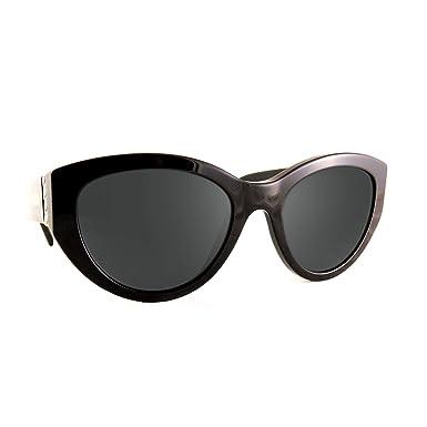 811712445 Amazon.com: Sunglasses Moschino Mos 12 /S 0807 Black/IR gray blue ...
