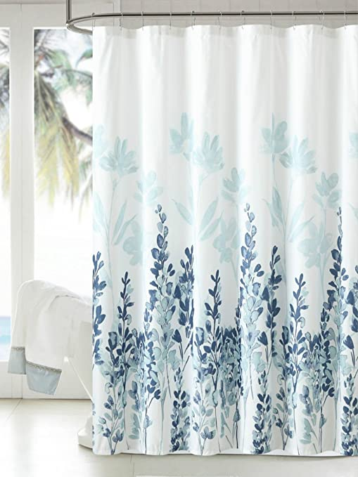 Best Place To Buy Shower Curtains.Manggou Fabric Shower Curtain Japanese Style Flowers Shower Curtain Liner Polyester Bathroom Curtain With 12 Hooks Machine Washable Teal Blue 72 X