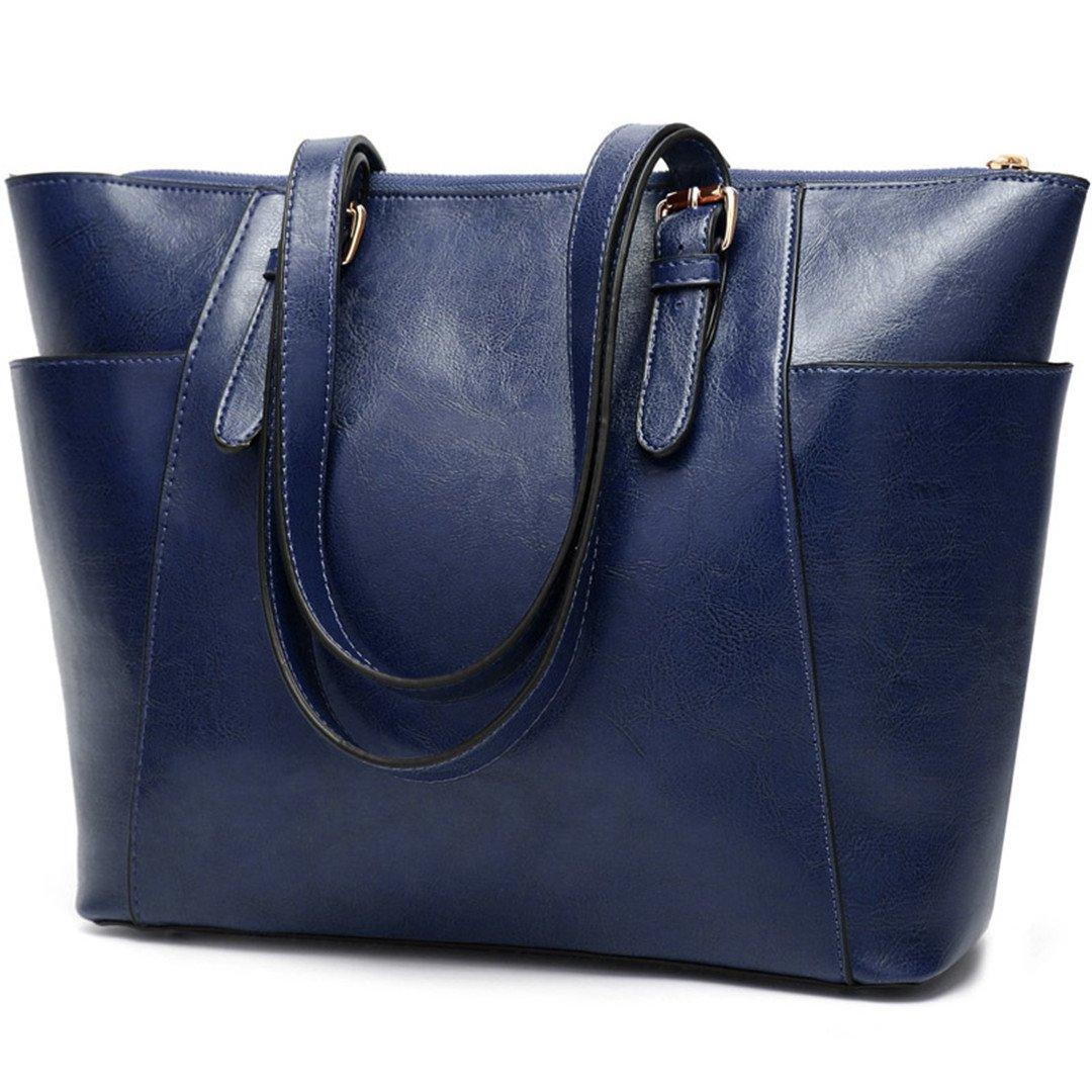 Herald Large Capacity Women Tote Bag Leather Female Shoulder Bags Ladys Messenger Bags Women Handbag