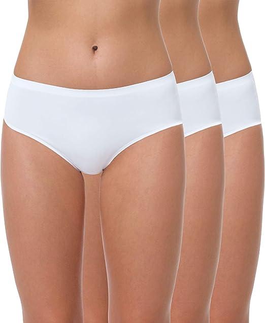 Yenita® - Braguita Seamless sin Costuras para Mujer, Pack de 3 ...