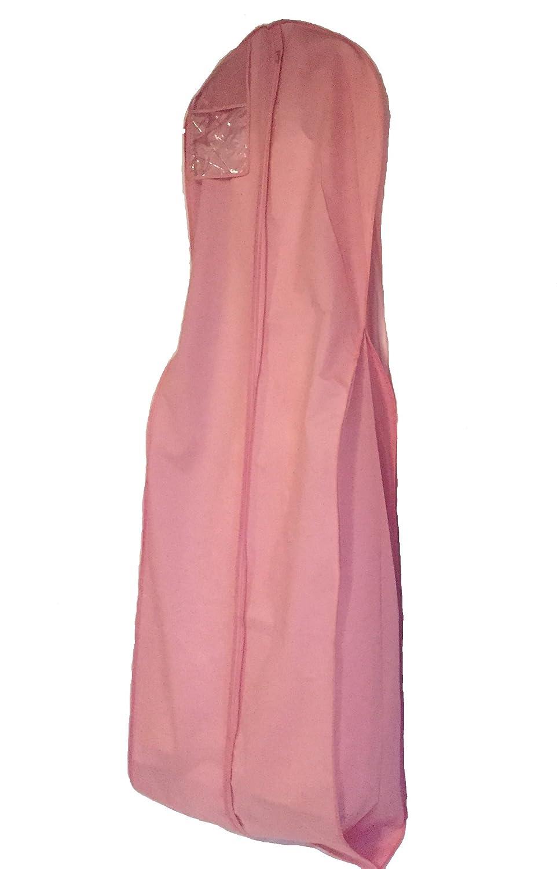 Amazon.com: Soft Rose Breathable Wedding Bridal long gown Travel ...