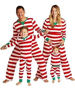 8d37b261ea Ekouaer Kids Pajamas Set for Boys Girls Soft Cotton Striped 2 Piece PJS  Long Sleeve Kid