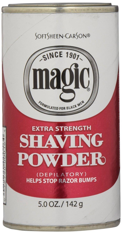 Magic シェービングパウダーレッドエクストラストレングス5オズ(4パック) 4パック 4パック  B01IADZPAI