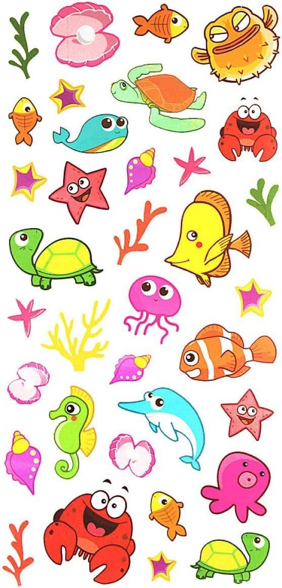 Tattoo Stikcers Tatuajes para los niños, caja incluida muchos mar ...